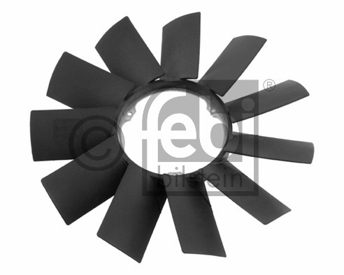 FAN TERMİK PERVANESİ E34-36-39-46-53 11 KANAT KALIN  M52-54  - Oem No: 11521712058