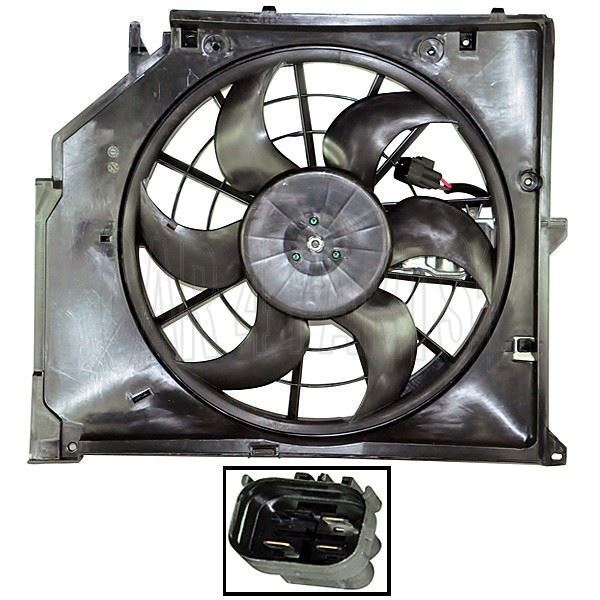 FAN MOTORU S.3 E46 97-06 3.23 - Oem No: 17117525508