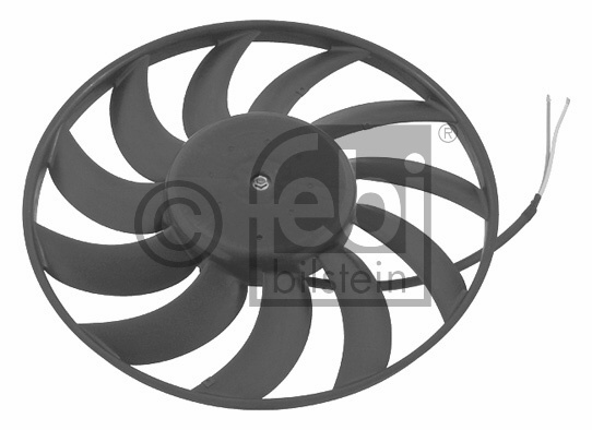 FAN MOTORU VW A6 2005- BÜYÜK Ø: 383 mm - Oem No: 4F0959455