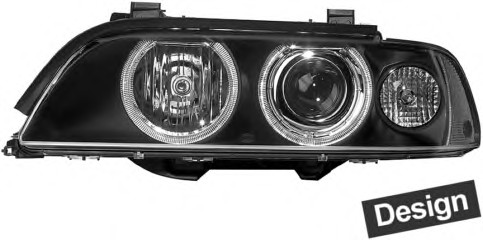 FAR XENON SARI SAĞ E39  2001-03 - Oem No: 63126912430
