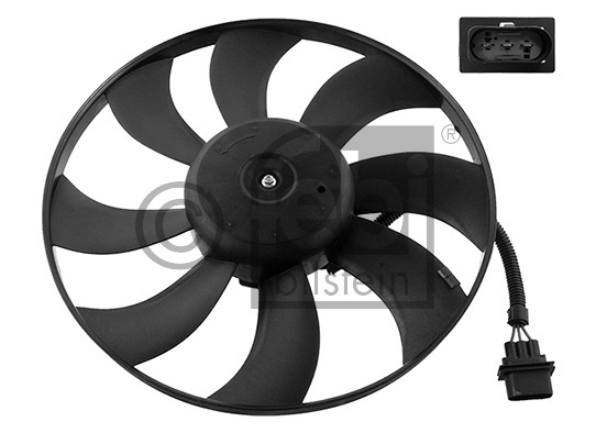 FAN AMF  POLO 4-5 1.4 TDİ  - Oem No: 6Q0959455N